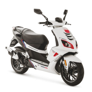 Peugeot Speedfight4 Rcup Icy White