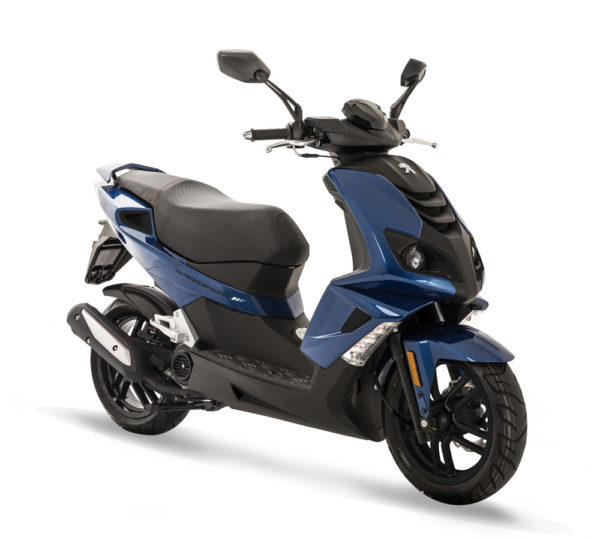 Peugeot Speedfight4 Deep Ocean Blue