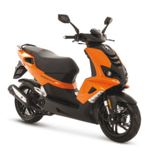 Peugeot Speedfight4 Pulsar Orange