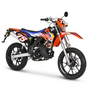 Rieju MRT Supermotard Orange Replica