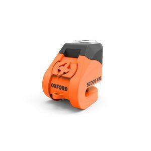 Skivbromslås (5mm) Orange Oxford