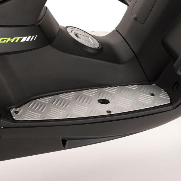 Tillbehör Peugeot Speedfight 3 & 4 Fotplattor Aluminium