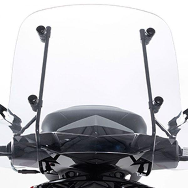 Tillbehör Peugeot Speedfight 3 & 4 Vindruta Låg