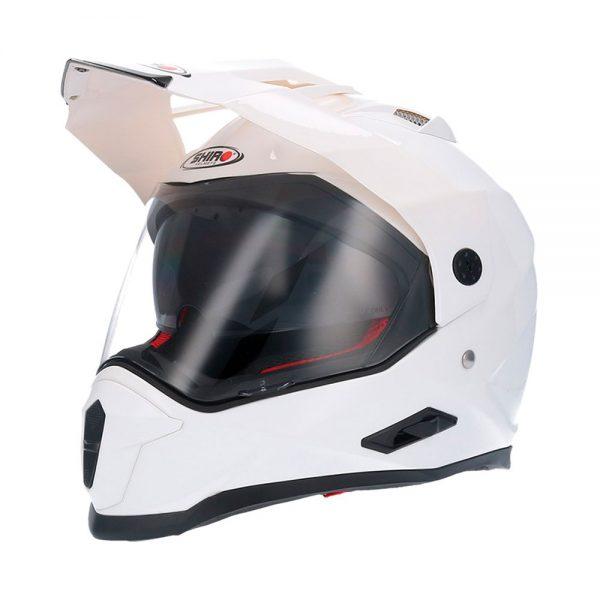 Crosshjälm Shiro MX-313 Vit